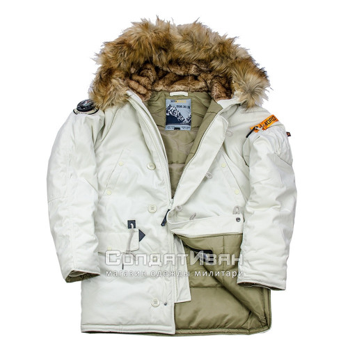 Куртка Аляска Oxford 2.0 COMPASS Silver Sage/olive | Nord Denali фото 7