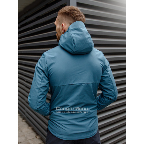 Куртка Ather softshell 30104 Blue | Vintage Industries фото 4