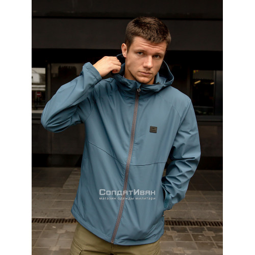 Куртка Ather softshell 30104 Blue | Vintage Industries фото 6
