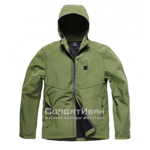 Куртка Ather softshell 30104 Olive | Vintage Industries фото 8
