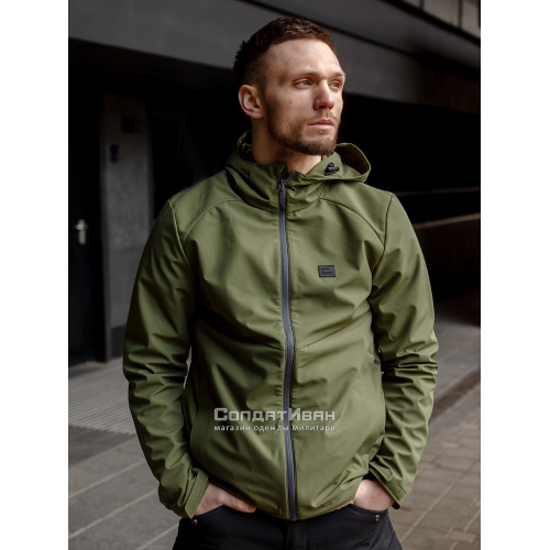 Куртка Ather softshell 30104 Olive | Vintage Industries фото 1