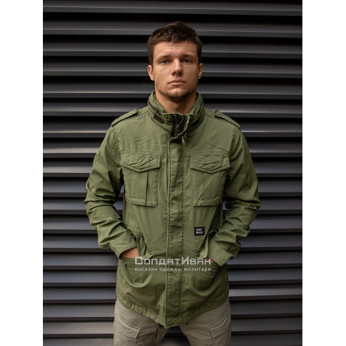 Куртка BEYDEN 2214 Bright Olive | Vintage Industries фото 4