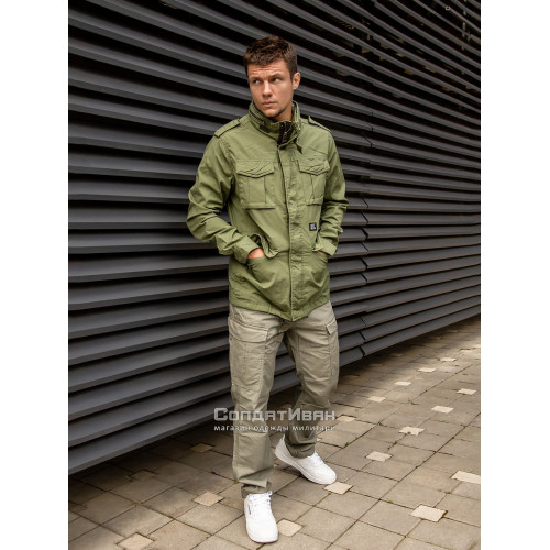 Куртка BEYDEN 2214 Bright Olive | Vintage Industries фото 2