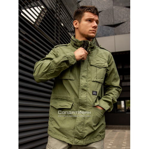 Куртка BEYDEN 2214 Bright Olive | Vintage Industries фото 1