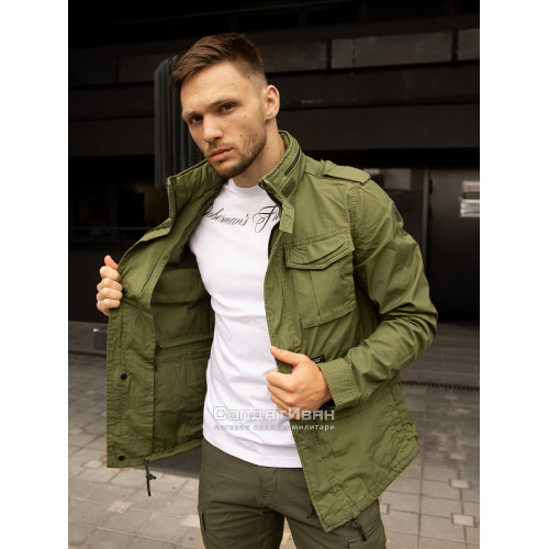 Куртка BEYDEN 2214 Bright Olive | Vintage Industries фото 6