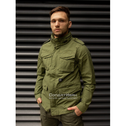 Куртка BEYDEN 2214 Bright Olive | Vintage Industries фото 7