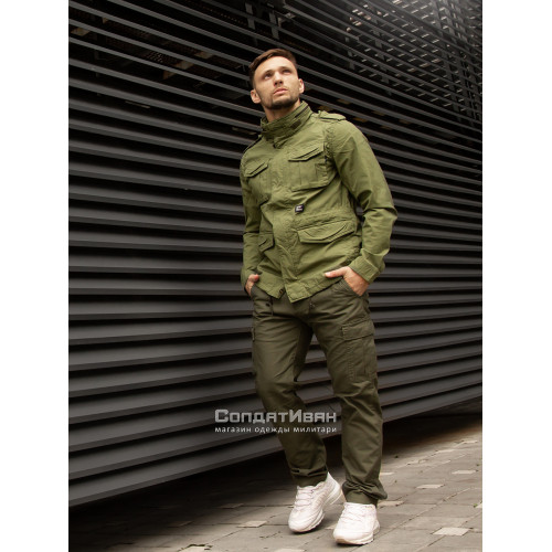 Куртка BEYDEN 2214 Bright Olive | Vintage Industries фото 8