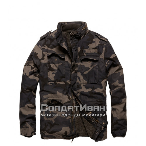 Куртка Ground 2203 Dark Camo | Vintage Industries фото 4