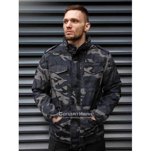 Куртка Ground 2203 Dark Camo | Vintage Industries фото 1