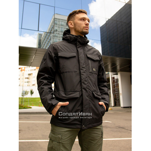 Куртка Marc parka 30106 Black | Vintage Industries фото 4