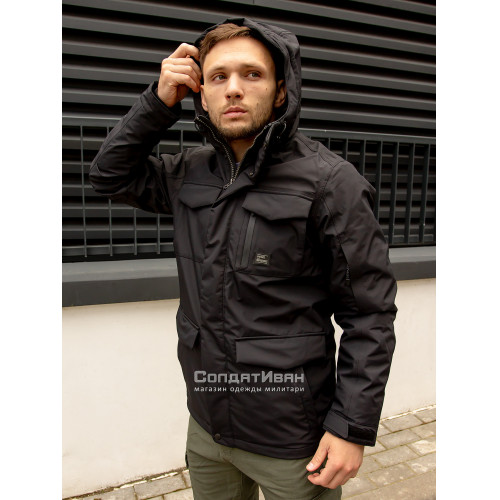 Куртка Marc parka 30106 Black | Vintage Industries фото 3