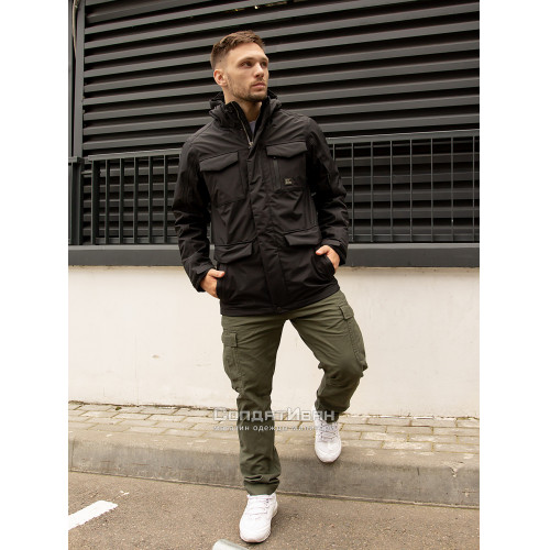 Куртка Marc parka 30106 Black | Vintage Industries фото 5