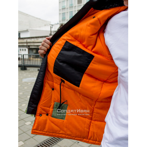 Куртка Аляска Husky Ink/Orange | NORD STORM фото 28