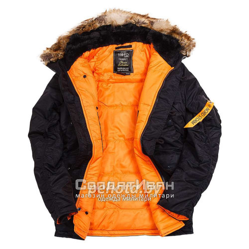 Куртка Аляска Husky Ink/Orange | NORD STORM фото 12