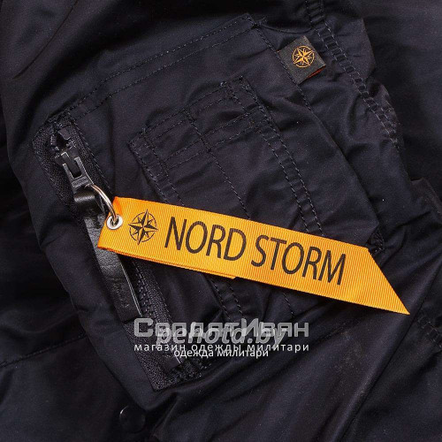 Куртка Аляска Husky Ink/Orange | NORD STORM фото 15