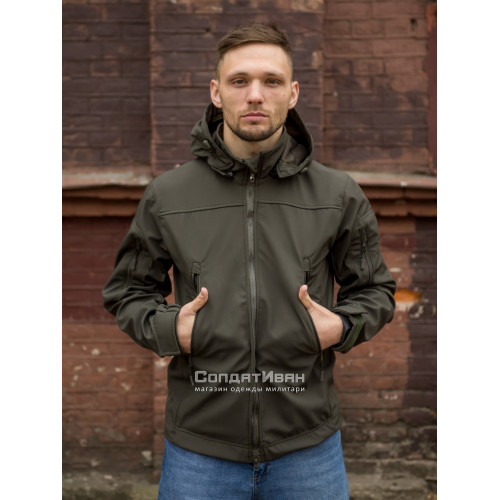 Куртка Оперативник GT GEN-II SoftShell Olive | Grizzly фото 5