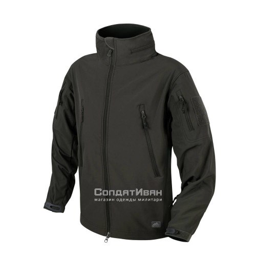Куртка Softshell Gunfighter Ash grey | Helikon-Tex фото 1