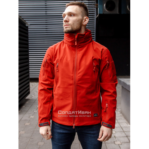 Куртка Softshell Gunfighter Crimson Sky | Helikon-Tex фото 1