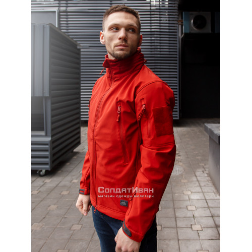 Куртка Softshell Gunfighter Crimson Sky | Helikon-Tex фото 2