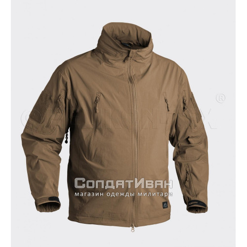 Куртка ветровка Trooper Soft Shell Mud Brown | Helikon-Tex фото 1