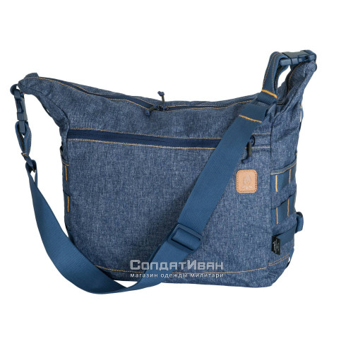 Сумка BUSHCRAFT SATCHEL Melange Blue | Helikon-Tex фото 1