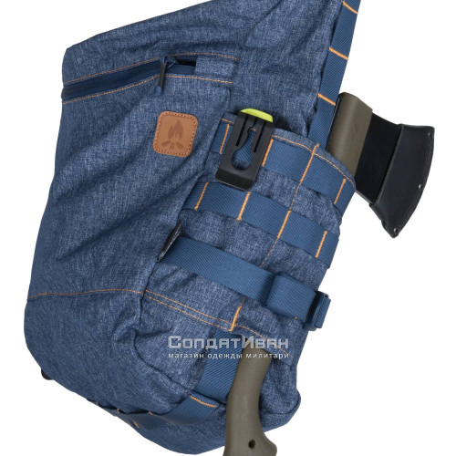 Сумка BUSHCRAFT SATCHEL Melange Blue | Helikon-Tex фото 4