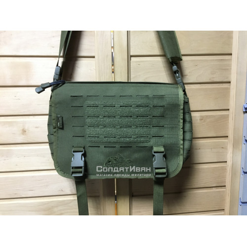 Сумка Small Messanger Bag Olive Green | Helikon-Tex фото 1
