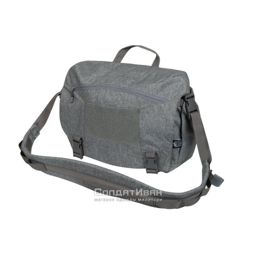 Сумка URBAN COURIER BAG Medium Grey Melange | Helikon-Tex фото 1